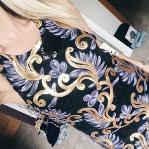 FUN SEQUIN DRESS